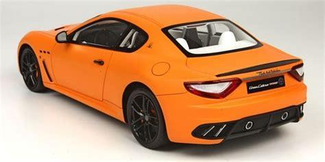 Orange Maserati by Top Marques 1 18 Maserati Mc Granturismo Orange Yellow