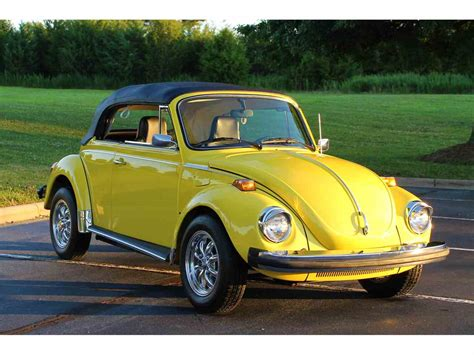 Beetle Volkswagen For Sale by 1975 Volkswagen Beetle For Sale Classiccars Cc 1033813