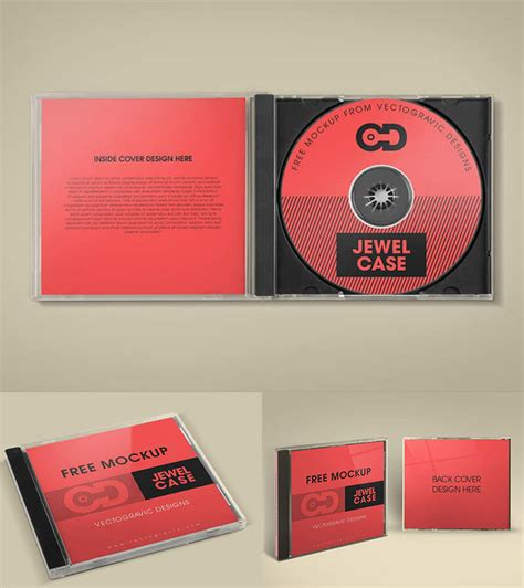 39 Excellent Free Cd Dvd Covers Mockup Psd Graphiceat Cd Mockup Template