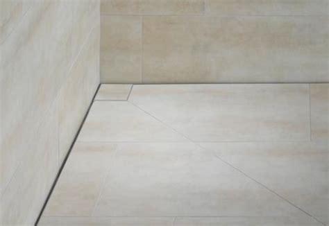 floorlevel shower system poresta slot by illbruck stylepark