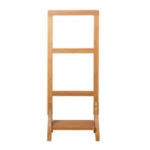 pathein bamboo towel rack hooks bathroom