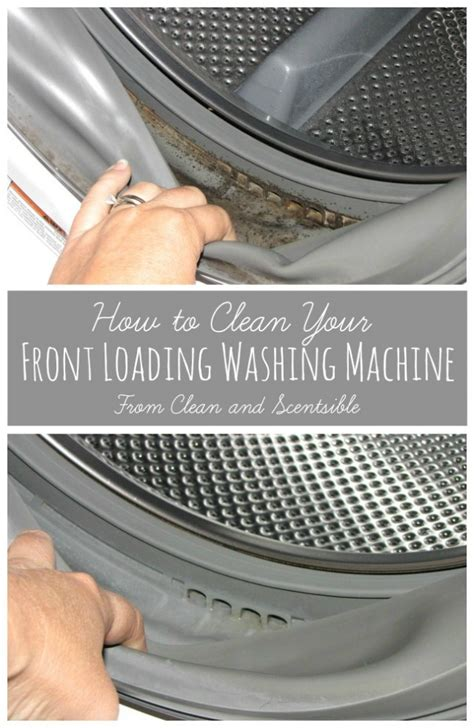 how to clean front load washing machine how to