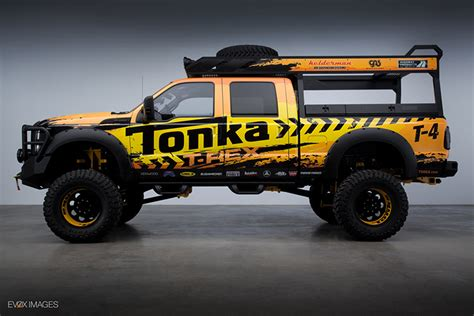 nissan california set up tonka truck set to tour the country with power on