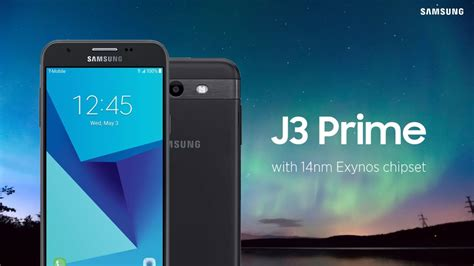 samsung galaxy j3 prime official specs price and sales details