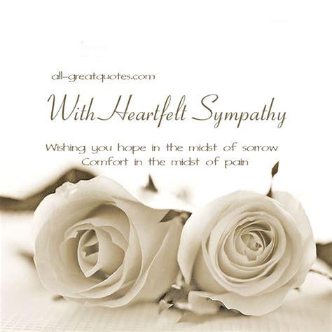 heartfelt sympathy wishing you hope in the midst of sorrow