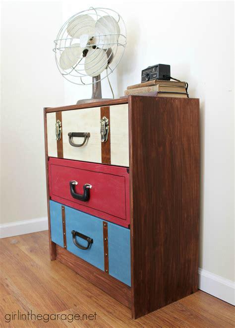ikea rast dresser desk suitcase dresser ikea rast hack girl in the garage 174