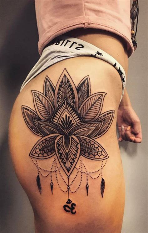 hip thigh tattoo 30 s badass hip ideas tatoos and