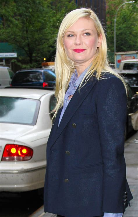 New For Kirsten Dunst Needed by Kirsten Dunst Leaves The View Studios In New York Hawtcelebs
