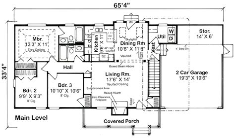 ranch style bungalow floor plans ranch home design