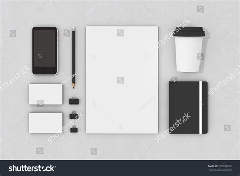 template mockup card set blank corporate identity stationery set personal branding