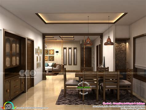 modern interior designs   kerala home design
