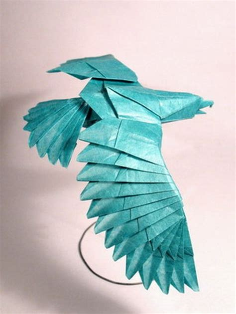 How To Make A Eagle Out Of Paper - best 25 origami eagle ideas on origami