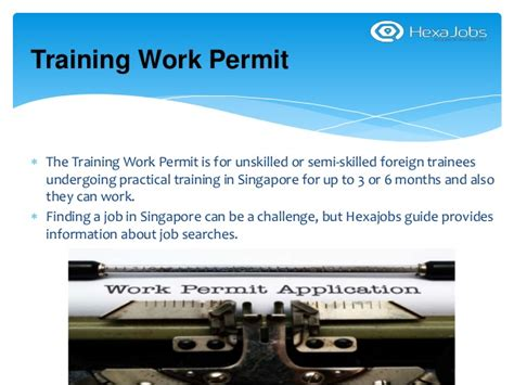 Work Permit After Mba In Singapore by Apply Work Permit Twp In Singapore