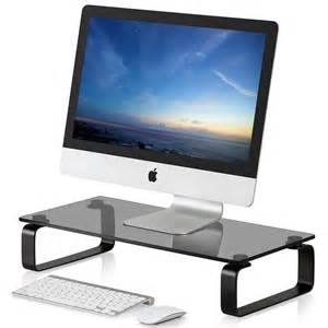 Computer Desktop Stand Fitueyes Computer Monitor Riser Led Tv Stand Shelf Desktop