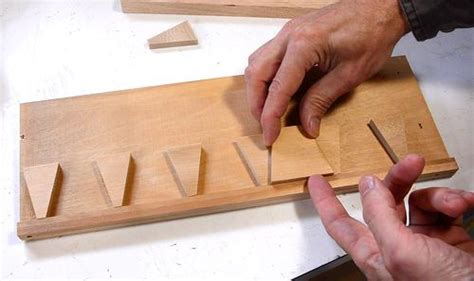 Cheating At Hand Cut Half Blind Dovetails