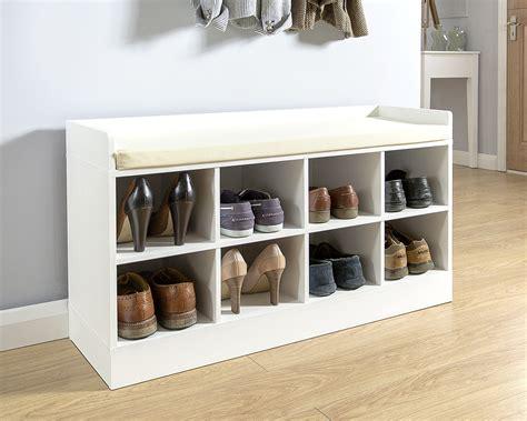 shoe bench white kempton shoe bench white amc furniture
