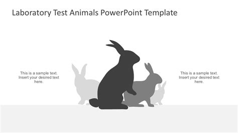 powerpoint templates animals science laboratory animal testing slidemodel