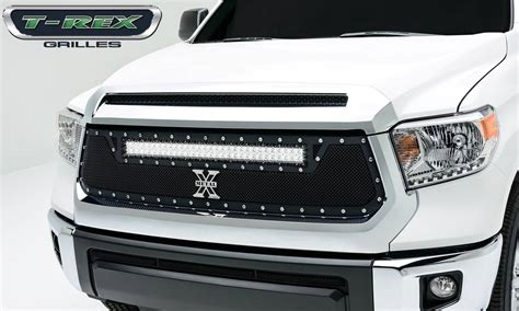 Toyota Tundra Torch Series Led Light Grille 1 30 Quot Led Led Light Bar Grill