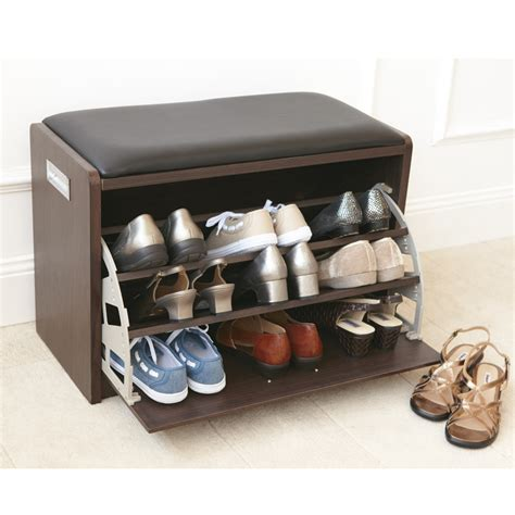 bench shoe storage furniture cozy diy shoe bench with versatile designs