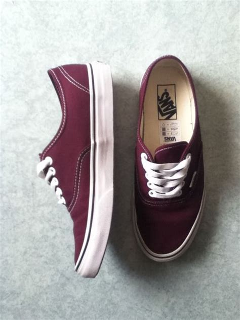 maroon color shoes really wanting maroon vans they re like the best color