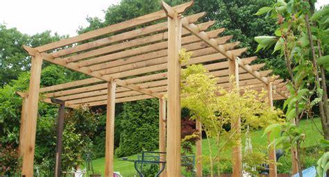 Large Garden Trellis Garden Pergolas Wooden Pergolas
