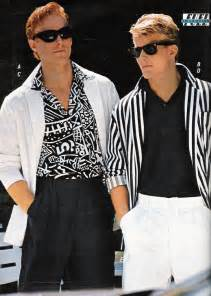 Men s fashion as featured in a 1987 advertisement i loved it all