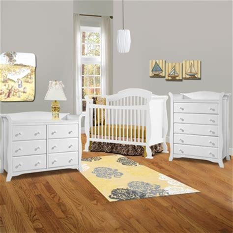 Storkcraft 3 Piece Nursery Set Valentia Convertible Crib Convertible Crib And Dresser Set