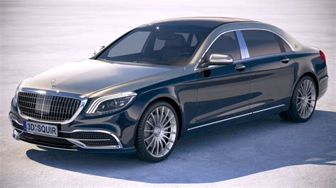 Mercedes Maybach Suv 2019 by Mercedes Maybach 2019 3d Turbosquid 1256297