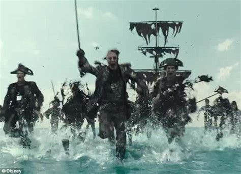 Summer Of Blockbuster Thirds Continues Of The Caribbean At Worlds End Premiere by Sparrow As A Pirate In New Trailer