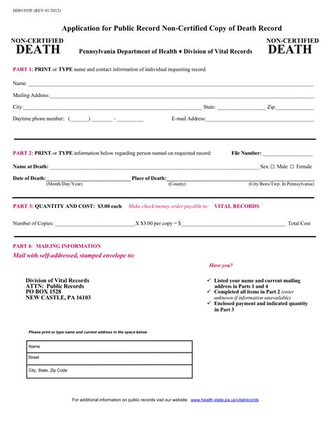 Search Deceased Pa Vital Records Birth Certificates Records Autos Post