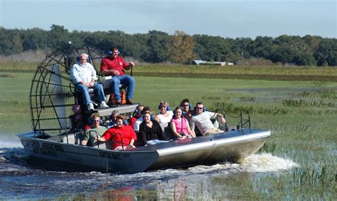 airboat adventures at boggy creek airboat rides and gem mining boggy creek airboat