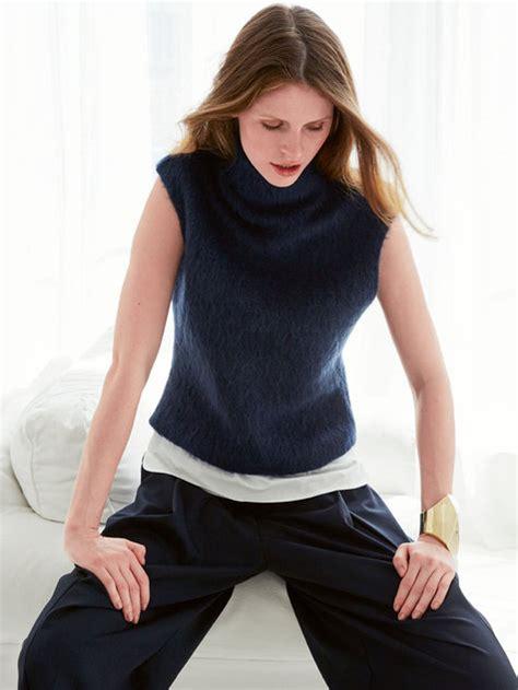 easy knit turtleneck sweater pattern sleeveless turtleneck 11 2015 111 sewing patterns
