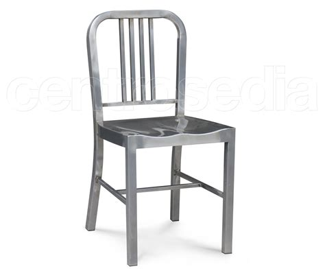 sedie in metallo marine sedia metallo sedie alluminio metallo