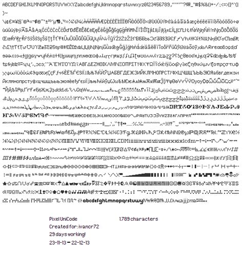 dafont unicode pixel unicode font dafont com