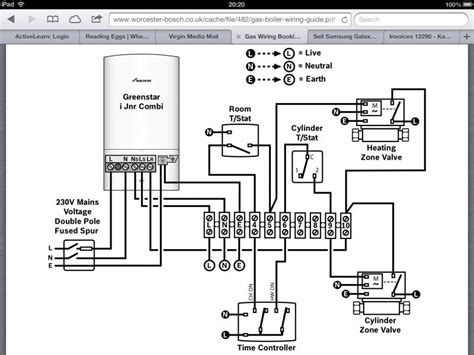 wiring diagram for a combi boiler image collections