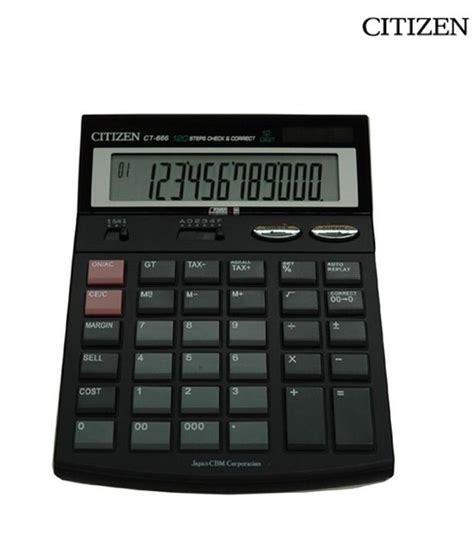 Citizen Calculator Sld 100n flair fc 280 basic calculator price in india as on 2014