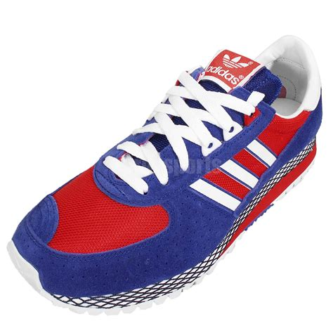 Adidas Mararhon Import adidas city marathon pt nigo blue white 80s style mens running shoes b35710 ebay