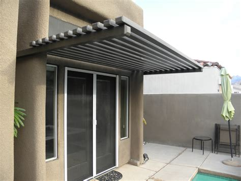 Door Awning Designs by Weatherwood And Aluminum Wood Patio Cover Products By