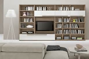 Living Room Bookshelves Living Room Bookshelves 46 Interior Design Ideas