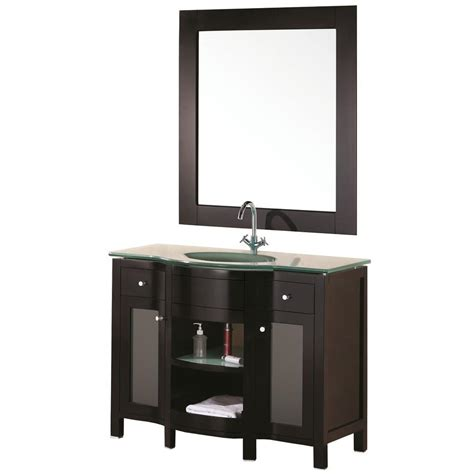 43 X 22 Vanity Top by Design Element Rome 43 In W X 22 In D Vanity In Espresso