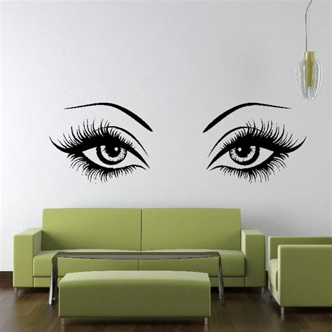 eye wall stickers wall sticker design vinyl transfer graphic