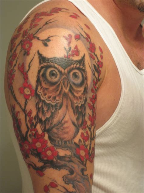 owl tattoo arm girl best owl tattoo designs gallery