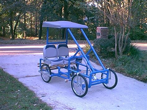 build from pvc pipe car pvc 2 person bike 171 pvc innovation