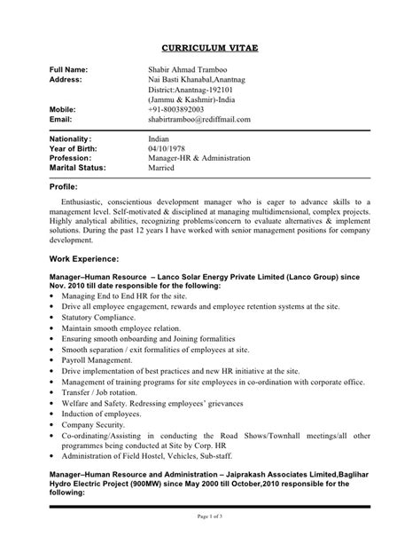 copy of cv template updated cv of shabir copy