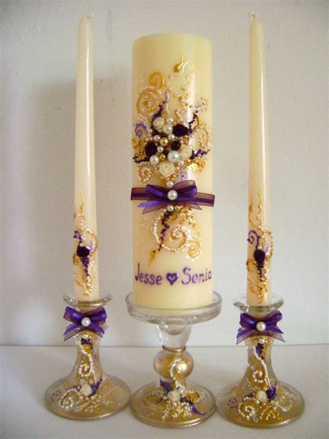 candle decorating ideas with ribbon 128 best wedding unity candles images on wedding unity candles decorated candles
