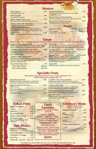 Free Menu Templates For Restaurants by Restaurant Menu Templates Graphics And Templates