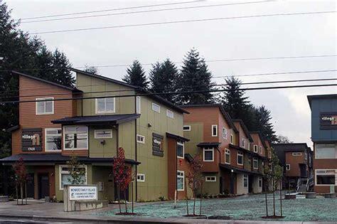 housing hope monroe family village housing hope kirtley cole associates