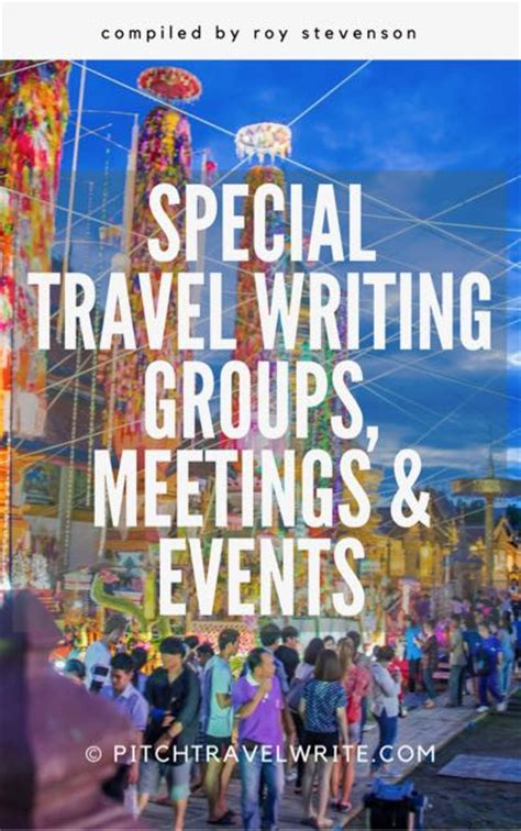 travel shows  travel writers