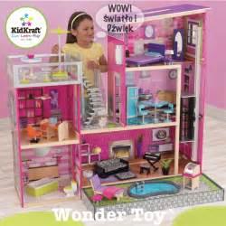 luxury dollhouse kidkraft wielki domek dla lalek