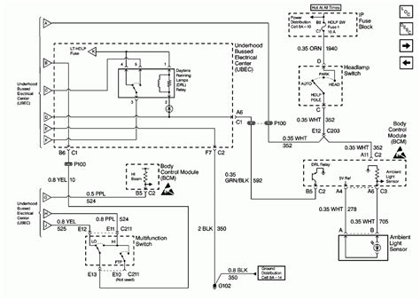 98 chevy headlight wiring diagram 33 wiring diagram